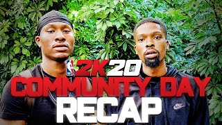 NBA2K20 COMMUNITY DAY   I WAS INVITED TO PLAY NBA 2K20 EARLY!