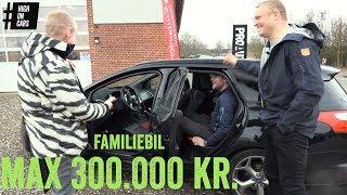 Glad familiebil til max 300.000