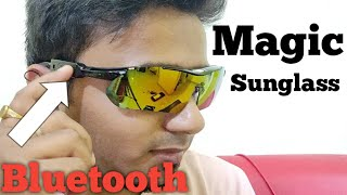 Sunglass With Bluetooth And Call Functionality Gocomma LB014 Smart Bluetooth Sunglasses Headset