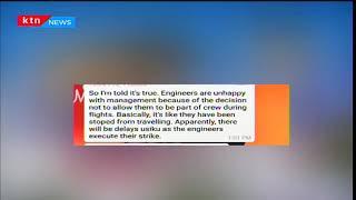 Kenya Airways sacks 140 employees from their technical department
