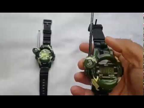 Multi-function Walkie Talkie (Two- Way) Spy Watches for Kids