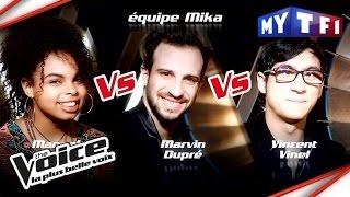 Manoha VS Marvin Dupré VS Vincent Vinel | The Voice France 2017 | Epreuve Ultime