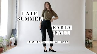 Outfit Ideas For Late Summer & Early Fall | Outfits Inspiration Lookbook | Dearly Bethany
