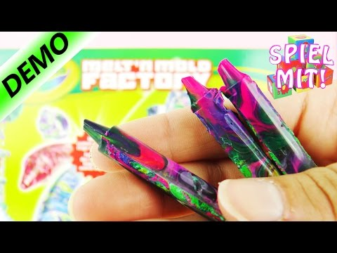 Melt'n Mold Factory Crayola - COOLE Wachsmalstifte in bunten Farben selber machen