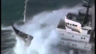 Bateaux Dans  Tempêtes Capitaine Abandonné