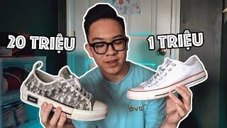 Converse  20 Triệu Khác Gì Converse 1 Triệu ? | Dior Vs Converse