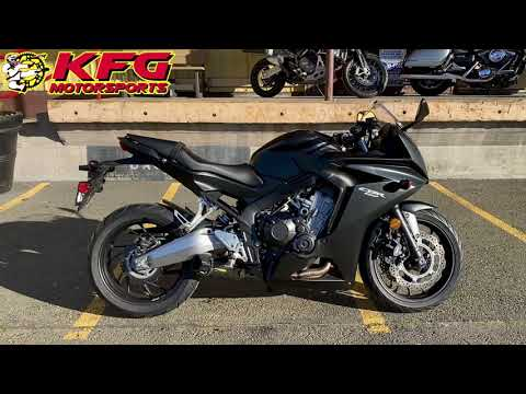 2014 Honda CBR®650F ABS in Auburn, Washington - Video 1