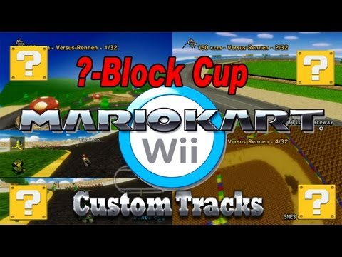 Mario Kart Wii Walkthrough Custom Track Grand Prix Revolution