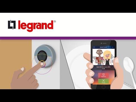 Découvrez la sonnette connectée Legrand