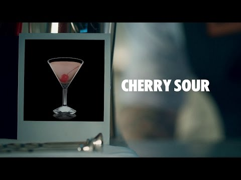 Video CHERRY SOUR DRINK RECIPE - HOW TO MIX