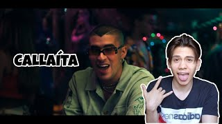 Callaíta   Bad Bunny ( Video Oficial ) (Reacción)