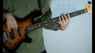 The Doobie Brothers - The Doctor - Bass Cover