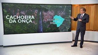 Bom Dia Brasil: Cachoeira Boca da Onça