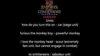 aoe2 hd cheats - मुफ्त ऑनलाइन वीडियो
