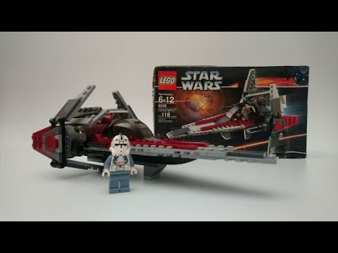 Vidéo LEGO Star Wars 6205 : V-wing Fighter