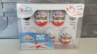 Collection Airbus A330-300 | Kinder Surprise Unboxing | Flugzeug Modelle