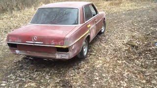 1976 Mercedes Benz w115 240d M117 v8 first drive
