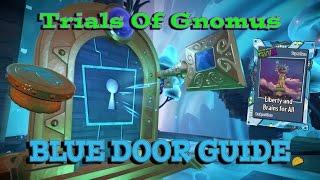 PVZGW2 Trials Of Gnomus - Blue Door Challenge Guide
