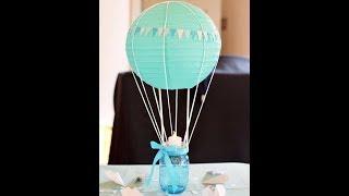 Centro de Mesa para Baby Shower | ideas y manualidades
