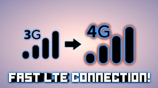 HOW TO ALWAYS GET 4G AND FAST INTERNET CONNECTION!