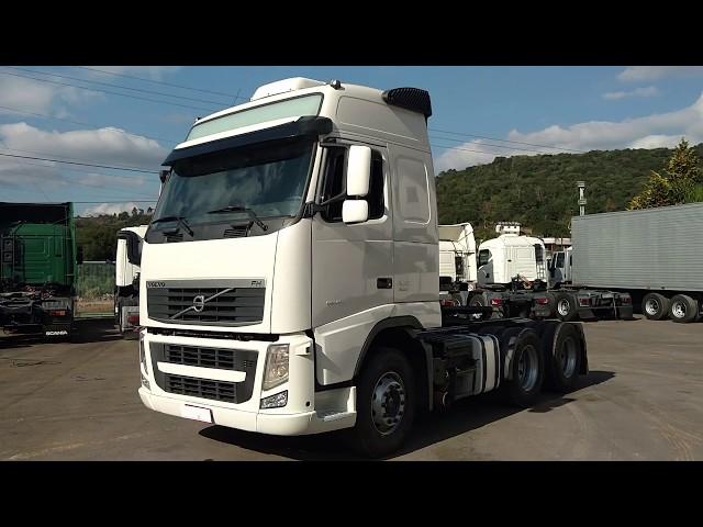 Vídeo do caminhão FH460 Globetroter 6x2, automático
