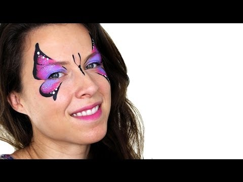 face painting tutorial butterfly