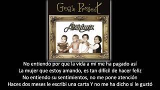 Aventura - Por Tu Orgullo (lyric - letra)