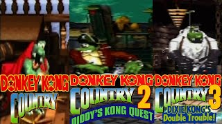 Donkey Kong Country Final Boss: 1,2,3