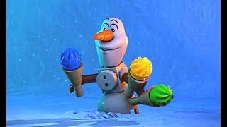 Disney ЛЕГО Холодное сердце - Северное Сияние | Великий ледник | серия 3