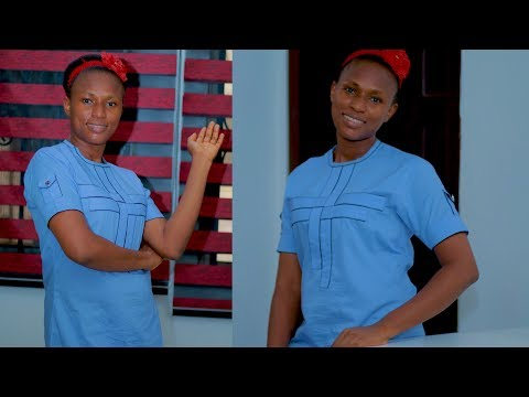DIY: HOW TO MAKE FEMALE NIGER DELTA DESIGN - PART 1 (WELL DETAILED AFRICAN FASHION)
