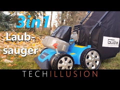 🛠 3in1 LAUBSAUGER von Güde im Test - Güde GFLS 1600 - Review & Test