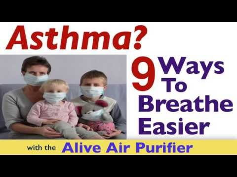 Video Air Purifier for Allergies and Asthma