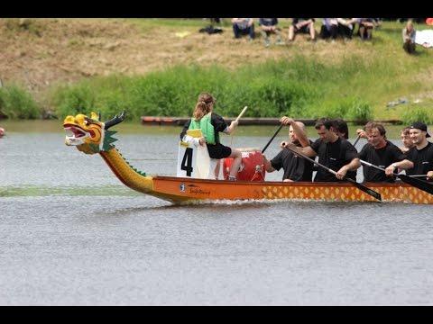 Závody Grand Prix dračích lodí na sedlčanské přehradě