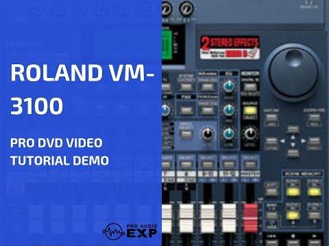 » Watch Full Roland VM-3100 / Pro DVD Video Training Tutorial Help