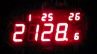 Часы для слабовидящих говорящие VST-770 T-1: календарь, будильник, термометр от компании Большая ярмарка - видео