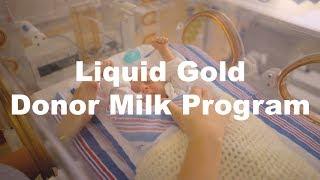 The Liquid Gold Donor Milk Program at Maria Fareri Children's Hospital's Regional Neonatal Intensive Care Unit Nourishes Premature Infants Across Our Region