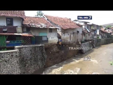 Turap Sungai Cianjur Ambrol
