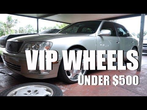 NEW VIP WHEELS FOR MY LEXUS LS400 (UNDER $500)