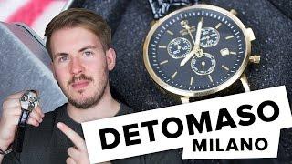 Detomaso Milano Testbericht // Lets Watch#2 // Deutsch // FullHD