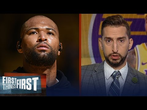 First Things First: Cris Carter and Nick Wright