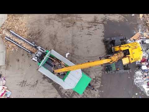 Komptech Terminator 5000S Shredder - Multiple Waste Streams