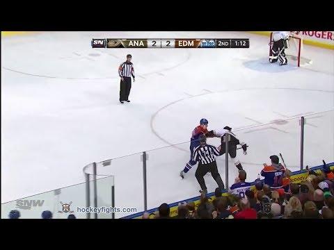 Matt Hendricks vs. Matt Beleskey