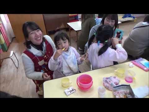 笠間市 ともべ幼稚園 しあわせ講座「永久歯対策」