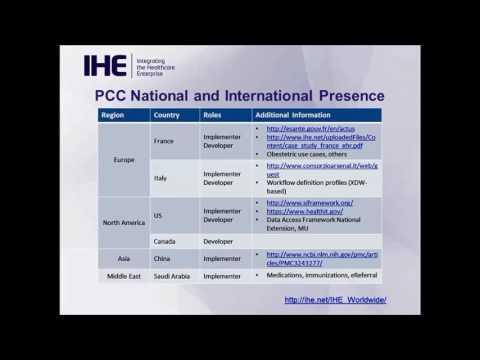 IHE Webinar Series 2016: Patient Care Coordination (PCC) Domain ...