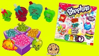 Secret Sweets + Supermarket Scramble Game with Exclusives & Surprise Mystery Shopkins
