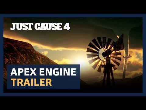 Just Cause 4 : Vidéo moteur APEX