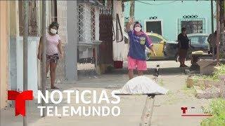 Fuertes Imágenes De Cadáveres Acumulados En Las Calles Y Casas De Ecuador | Noticias Telemundo