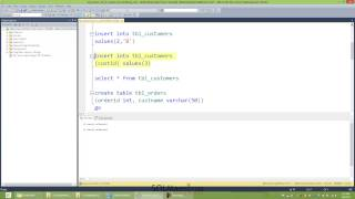 SQL Server NOT IN clause not working by Amit Bansal