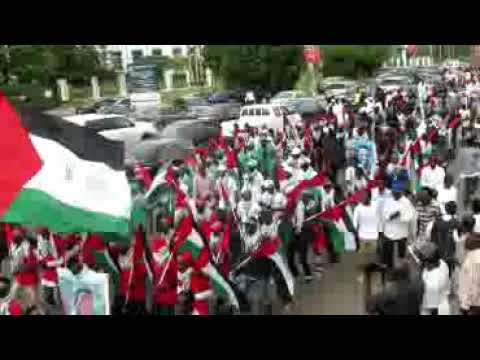 Quds day protest in Nigeria at Abuja in this year 2018 by members of the Islamic Movement in Nigeria