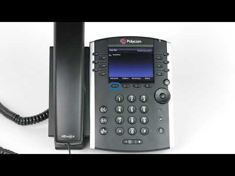Manually Provision a Polycom VVX Phone - YouTube